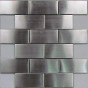 Another example of the perfect metal<a target='_blank' href='https://www.tilesandpavers.com.au/splashback-tiles'> splashback</a> tile.