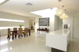 Polished Porcelain floor from beaumont tiles