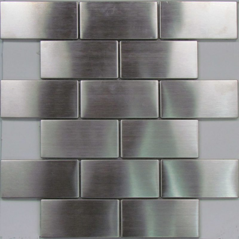 Beautiful stainless steel tile from EXO Tiles