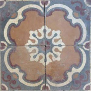 Alfresco Antique is a ceramic moroccan tile