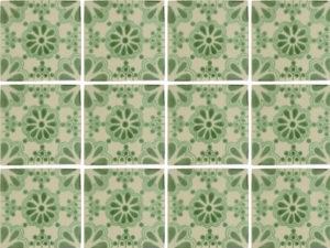 Belleza Verde Morroccan tiles