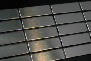 CABIN stainless steel tile ideal for kitchen splashbacks