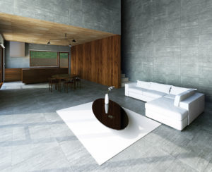 Concrete ceramic tile