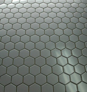 Honeycomb stainless steel metal tile