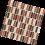Decorative glass tile – Autumn Mix Metallic Mosaic