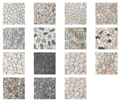 To ensure installation will be as easy as possible pebbles tiles are available in a convenient 300x300mm size however we highly recommend sealing this