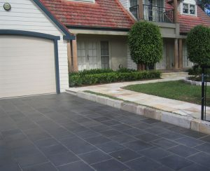 Black Slate Tile from Amber Tiles