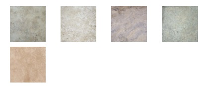 Amber Tiles travertine colour options