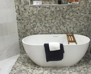 Pebble tiles from Amber Tiles