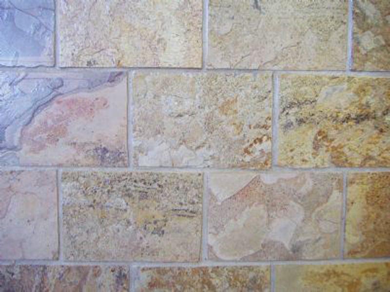 Bamboo Gold Madras Slate Floor Tiles Kitchen Amp Bathroom