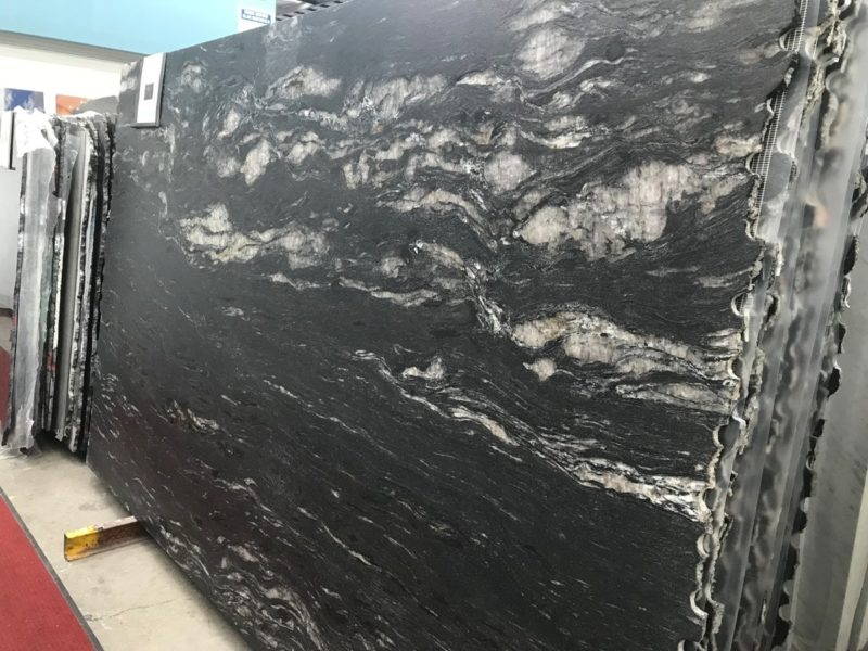 Black Cosmic Granite Tile Tiles Amp Pavers
