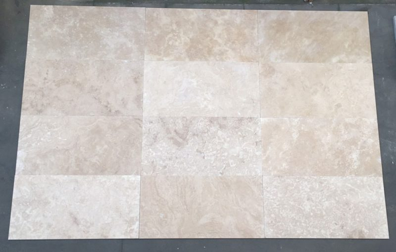 Santiago Honed And Filled Travertine Tile Tiles Amp Pavers