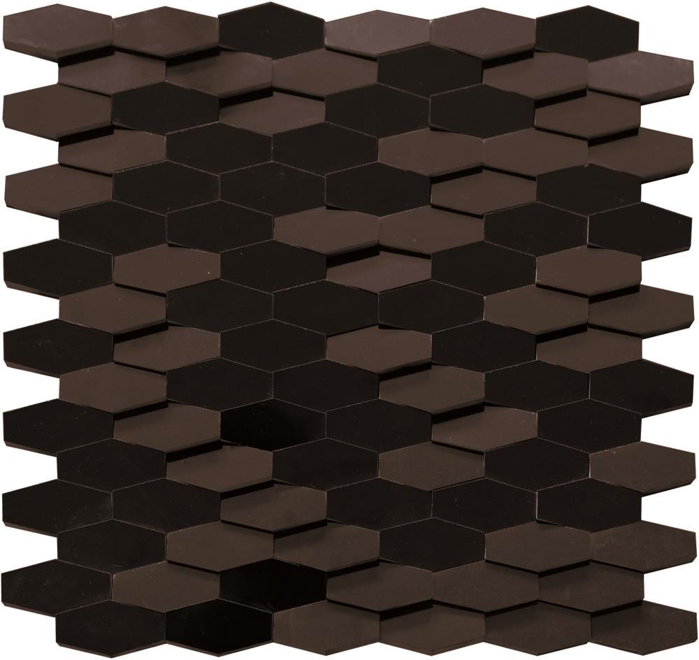 3d Long Hexagon Mosaic Tile 12862 Tiles Amp Pavers