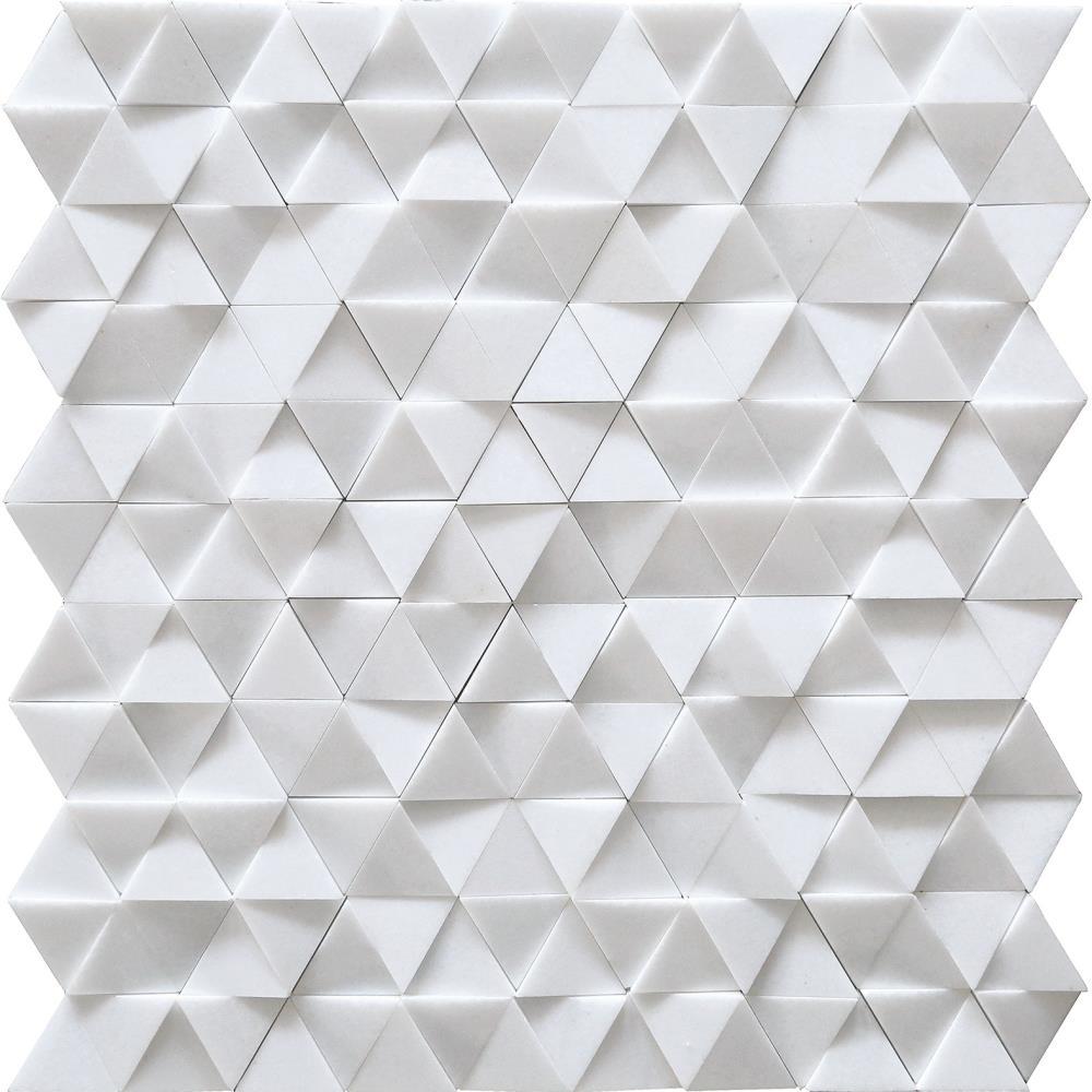 3d Triangle Mosaic Tile 12864 Tiles Amp Pavers